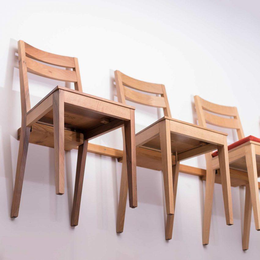 LIGNUM Stühle S83 in verschiedenen Hölzern