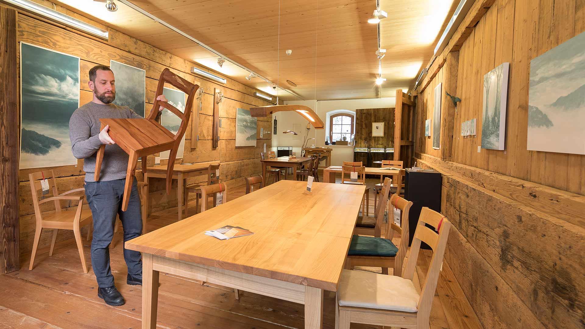 Wunderbar Lignum Möbel Mit System Foto Von Gaststätte, Marktscheune Regionalen Produkten Und Bücherladen, Auf